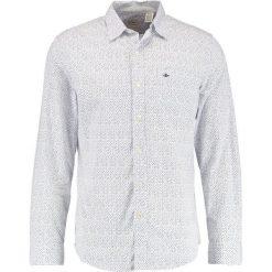 Koszule męskie na spinki: DOCKERS LAUNDERED POPLIN SLIM FIT Koszula paper white