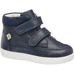 Buty dziecięce Elefanten niebieskie. Niebieskie buciki niemowlęce chłopięce Elefanten, z materiału, na rzepy. Za 159,90 zł.