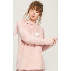 Pluszowa piżama z kapturem - Różowy. Czerwone piżamy damskie marki Sinsay, l. Za 69,99 zł.