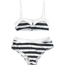 Pussy Deluxe Big Party Stripes Bikini Bikini czarny/kremowy. Białe bikini Pussy Deluxe. Za 99,90 zł.