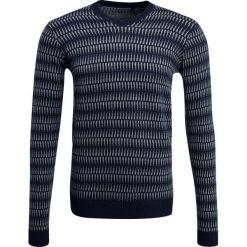 Swetry klasyczne męskie: Teddy Smith PROVAN Sweter total navy