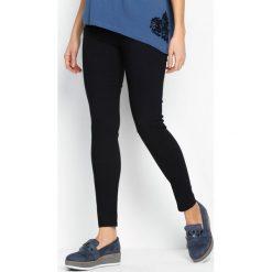 Spodnie damskie: Granatowe Spodnie Better Grade