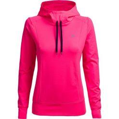 Bluza damska BLD601 - różowy neon - Outhorn. Czerwone bluzy damskie Outhorn, na lato, z materiału. W wyprzedaży za 59,99 zł.