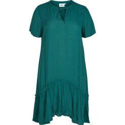 Sukienki: Sukienka w kolorze morskim