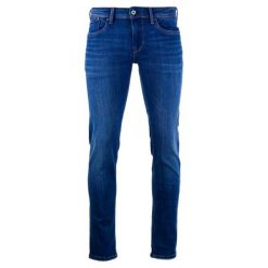 Pepe Jeans Jeansy Męskie Hatch 31/32 Niebieski. Niebieskie jeansy męskie z dziurami marki Pepe Jeans. Za 483,00 zł.