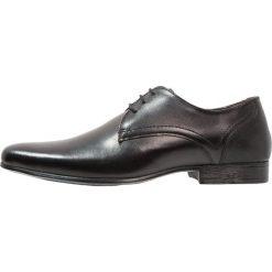 Buty wizytowe męskie: Burton Menswear London SAMPSON DERBY Eleganckie buty black