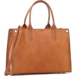 Torebka CREOLE - K10303  Koniak. Brązowe torebki klasyczne damskie Creole, ze skóry. W wyprzedaży za 229,00 zł.