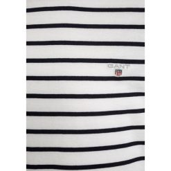 T-shirty chłopięce: GANT BRETON STRIPE LOGO  Tshirt z nadrukiem eggshell