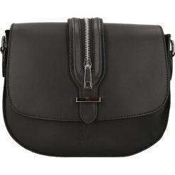 """Torebki klasyczne damskie: Skórzana torebka """"Seine"""" w kolorze czarnym – 25 x 20 x 6,5 cm"""