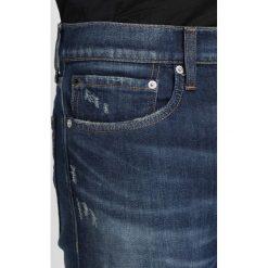 Calvin Klein Jeans 026 SLIM Jeansy Slim Fit lisbon dark blue. Niebieskie jeansy męskie relaxed fit Calvin Klein Jeans. Za 509,00 zł.