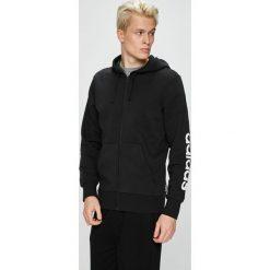 Adidas Performance - Bluza. Czarne bejsbolówki męskie adidas Performance, l, z bawełny, z kapturem. W wyprzedaży za 199,90 zł.