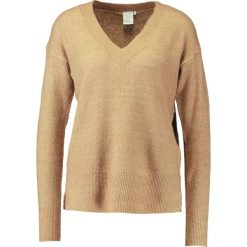 Swetry klasyczne damskie: ICHI LAVENDER Sweter tannin