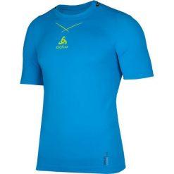 Odlo Koszulka męska Ceramicool Pro Seamless niebieska r. L (160002/20336). Niebieskie koszulki sportowe męskie marki Odlo, l. Za 132,66 zł.