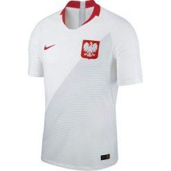 Koszulki do piłki nożnej męskie: Nike Koszulka męska Reprezentacji Polski Vapor Match JSY Home biała r. XL (922939-100)