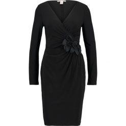 Sukienki: Anna Field DRESS WITH ROSES AT SIDE  Sukienka etui black