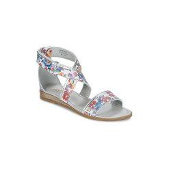 Sandały Dziecko  Mod'8  JOYCE. Białe sandały dziewczęce marki Mod'8. Za 295,20 zł.