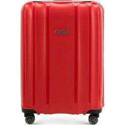 Walizka średnia 56-3T-732-30. Czerwone walizki marki Wittchen, średnie. Za 259,00 zł.