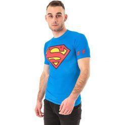 Under Armour Koszulka męska Compression Alter Ego Superman M niebieska r. XL (1244399-401*XL). Niebieskie koszulki sportowe męskie marki Under Armour, m, z motywem z bajki. Za 129,00 zł.