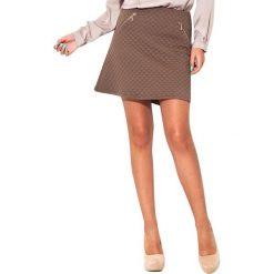 Odzież damska: Spódnica Kartus w kolorze ciemnobeżowym