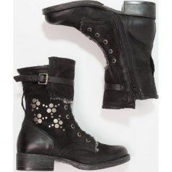 MJUS Śniegowce nero. Czarne buty zimowe damskie MJUS, z materiału. W wyprzedaży za 344,50 zł.