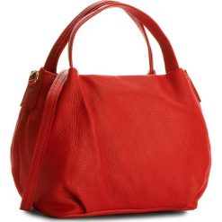 Torebka CREOLE - K10499  Czerwony. Czerwone torebki klasyczne damskie Creole, ze skóry. W wyprzedaży za 159,00 zł.