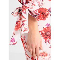 Sukienki hiszpanki: True Violet BARDOT MIDI DRESS WITH TIE SLEEVE PEPHEM Sukienka z dżerseju blush / red