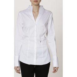 Seidensticker Bluzka white. Białe bluzki damskie Seidensticker, z bawełny. Za 349,00 zł.