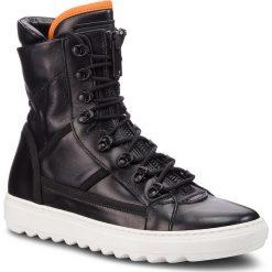 Kozaki ANTONY MORATO - MMFW01008/LE300001 Black 9000. Zielone buty zimowe męskie marki Antony Morato, m, z bawełny. W wyprzedaży za 649,00 zł.