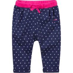Spodnie dresowe dziewczęce: Spodnie dresowe z zakładkami dla dziecka 0-3 lat