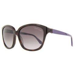 """Okulary przeciwsłoneczne damskie: Okulary przeciwsłoneczne """"RC733S 52Z"""" w kolorze brązowo-fioletowym"""