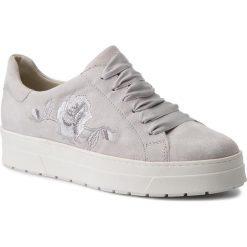 Sneakersy CAPRICE - 9-23702-30 Lt Grey Suede 201. Szare sneakersy damskie Caprice, z materiału. W wyprzedaży za 199,00 zł.
