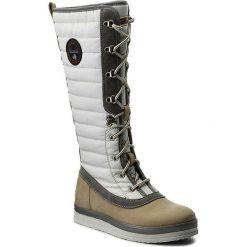 Buty zimowe damskie: Kozaki NAPAPIJRI - Gaby 15782215 Kilim Beige N102