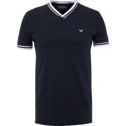 T-shirty męskie z nadrukiem: Emporio Armani Tshirt z nadrukiem blue navy