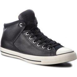 Trampki CONVERSE - Ctas High Street Hi 157472C Black/Black/Egret. Czarne tenisówki męskie Converse, z gumy. W wyprzedaży za 279,00 zł.