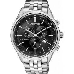 ZEGAREK CITIZEN Chrono AT2141-87E. Czarne, analogowe zegarki męskie CITIZEN, sztuczne. Za 1270,00 zł.