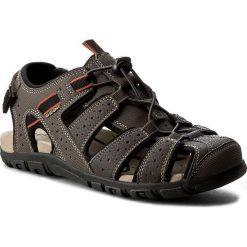 Sandały GEOX - U S.Strada B U6224B 00050 C6024 C.Kawowy. Brązowe sandały męskie skórzane Geox. W wyprzedaży za 249,00 zł.