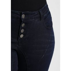 ADIA PISA BUTTONS  Jeans Skinny Fit blue dark. Niebieskie rurki damskie ADIA. Za 419,00 zł.