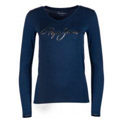 Pepe Jeans T-Shirt Damski Mara Xs, Ciemny Niebieski. Szare t-shirty damskie marki Pepe Jeans, m, z jeansu, z okrągłym kołnierzem. Za 233,00 zł.