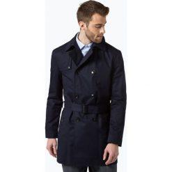 Płaszcze męskie: Finshley & Harding London - Płaszcz męski, niebieski