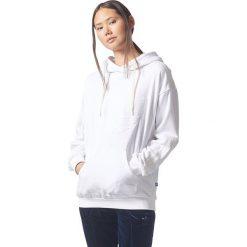 Bluzy sportowe damskie: Adidas Bluza damska Flock Hoodie biała r. 34 (BQ8019)