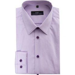 Koszula MICHELE 14-06-28. Różowe koszule męskie slim Giacomo Conti, m, z bawełny, z klasycznym kołnierzykiem, z długim rękawem. Za 229,00 zł.