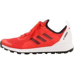Adidas Performance TERREX AGRAVIC SPEED  Obuwie hikingowe high red/core black/orange. Czerwone buty sportowe męskie adidas Performance, z materiału, outdoorowe. W wyprzedaży za 449,25 zł.