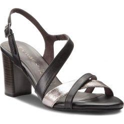 Rzymianki damskie: Sandały TAMARIS – 1-28016-20 Black/Pewter 050