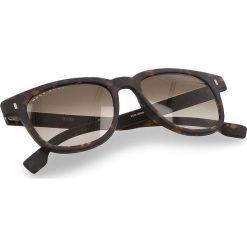 Okulary przeciwsłoneczne BOSS - 0956/S Dark Havana 086. Brązowe okulary przeciwsłoneczne damskie lenonki marki Boss. W wyprzedaży za 519,00 zł.