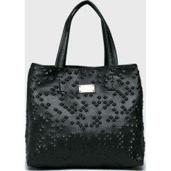 Nobo - Torebka. Czarne torebki klasyczne damskie marki Nobo, z materiału, duże. Za 229,90 zł.