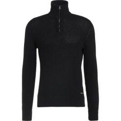 Swetry klasyczne męskie: BOSS Orange ALMORE Sweter black