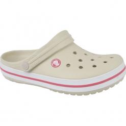 Buty dziecięce Crocband stucco/melon r. 33-34. Różowe buciki niemowlęce marki Crocs. Za 121,89 zł.