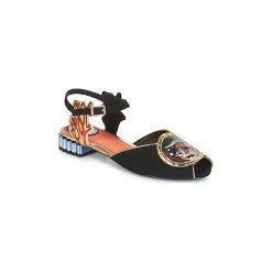 Sandały Miss L'Fire  ARIEL. Czarne sandały trekkingowe damskie marki Miss L'Fire. Za 363,30 zł.