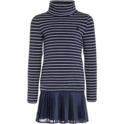 Odzież dziecięca: Polo Ralph Lauren STRIPE Sukienka z dżerseju newport navy/nevis