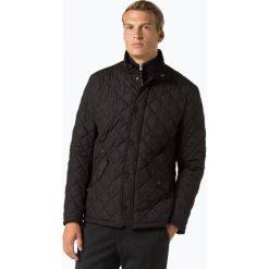 Barbour - Męska kurtka pikowana, czarny. Czarne kurtki męskie bomber Barbour, l, ze skóry, eleganckie. Za 899,95 zł.